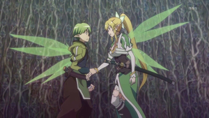 Recon and Leafa by Alice-of-Abyss