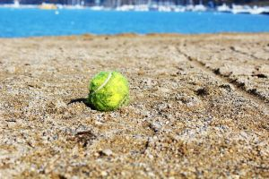 Lonesome Tennis Ball by PhotonicBohemian