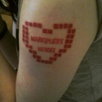 Markiplier's Heroes TATTOO by Kikkawa-Sei