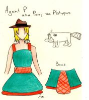 Perry the Platypus Pinafore by Kogalover-Zoe