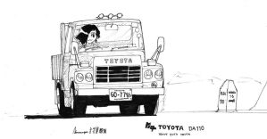 Toyota Truck by ngarage