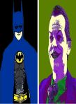 Batman 89 Batman and The Joker pop art by TheGreatDevin