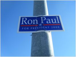 Ron Paul Sign by LadyLuck89