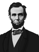 Abraham Lincoln by tattoartist9