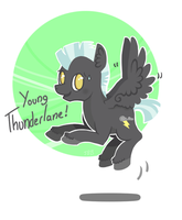 Young Thunderlane! by JellyBeanBullet