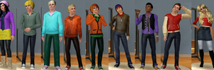South Park Sims c: by Juliatastic
