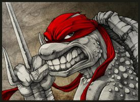 Raging Raph !!! by DeadPea