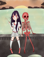 Sitting with Death by Stuffii