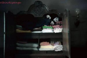 Sleeping In The Closet by albinokipanga
