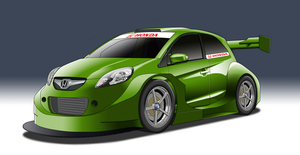 SuperT12 Race Series - Honda Brio by StylePixelStudios