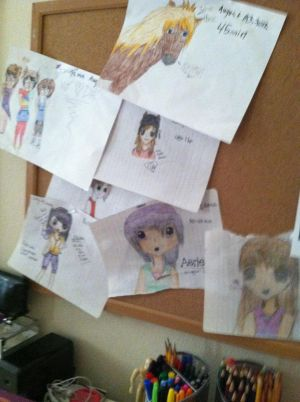My Collage Of Drawings!