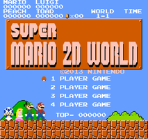 Super Mario 2D World by jotaauvei