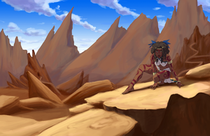 Desert Lady by WithoutName