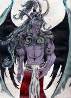 Illidan by SaturnsMoon