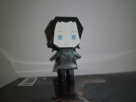 Loki Papercraft 1 - Front by princess6590