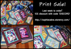 Pony Print Sale - LAST CALL! by sophiecabra