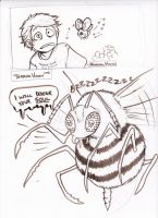 C.o.a.T.M: Fright of the BumbeeBee by xaotl