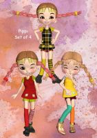Pippi by oldhippieart