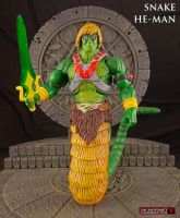 MOTUC Snake He-Man custom action figure by Jin-Saotome