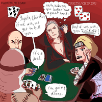 EUCHRE TIME by bassooniac