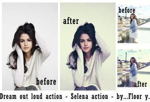 Dream out loud action by FloorYriarte