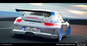 2013 Porsche 911 GT3 RS rear by Danyutz