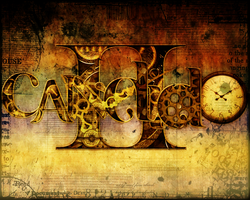 Candido Clockwork Typography by Candido1225