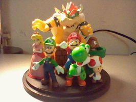 Club Nintendo Mario Figurine by NintendoMongoose