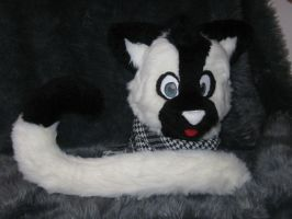 Cat head + tail SOLD by FurryFursuitMaker