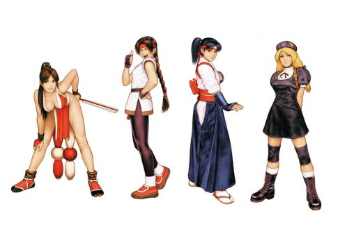 Women Fighters Team by KainRV1