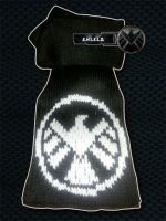 SHIELD Agent Scarf by MadMouseMedia