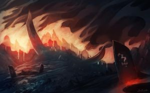 Fire Land by Frostwindz