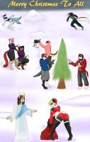 Gift: Merry Christmas to All by KSapphire8989