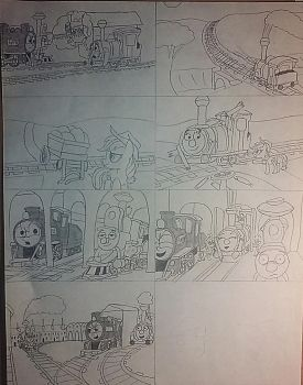Ghost Train parody (with story segment) by jebens1