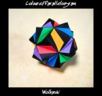 Coloured Parallelogram by wolbashi
