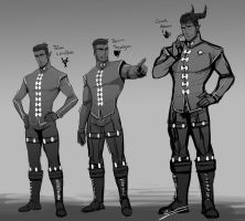 Male Inquisitors by AnimeFreak00910