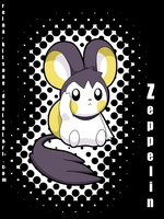 Zeppelin the Emolga by Reina-Kitsune