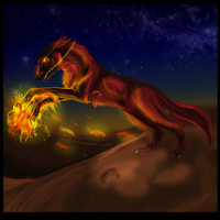 FireBringer- Comish 1 Aarok by Hero-Wuff