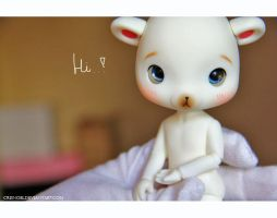 Shying Hi! from Pola^^ by CrisNoel