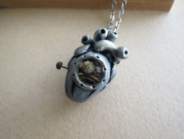 Steampunk submarine heart by LsUnique