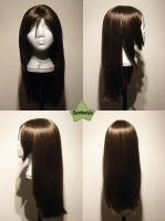 Wig Commission - Tifa by kyos-girl