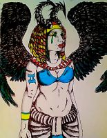 egyptian form by SilverWolf1717