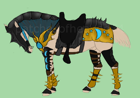 Nordy Tack Dragon-SOLD by patchesofheaven74