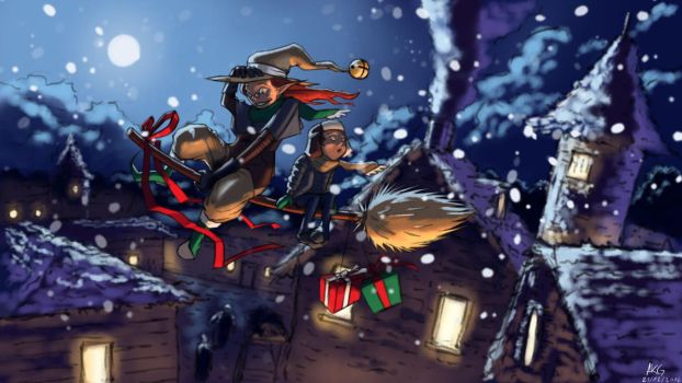 The Christmas Deliverer by AKS97