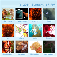 Art 2014 by BeCarefulPaint