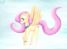 Fluttershy Fly into the sky by vlower