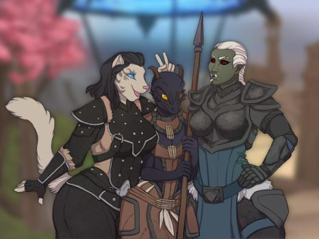 The Ladies. by ronnie92