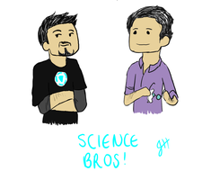 Science Bros by TheBritishGeek