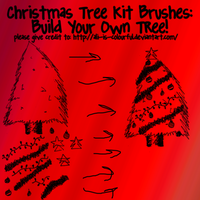 xmas tree builder brushpack by ali-is-colourful