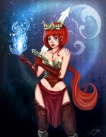 The Red Warrior by JenniferEasley